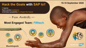 SAP IoT Hackathon - Africa 2020 Most Engaged Team: FIRtech